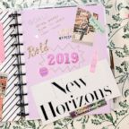 Make your own DIY vision board planner to help achieve your goals in 2019.