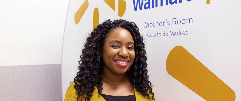 PHOTO: Walmart associate Tennille Webb had the idea to put Mamava pods in Walmart stores.