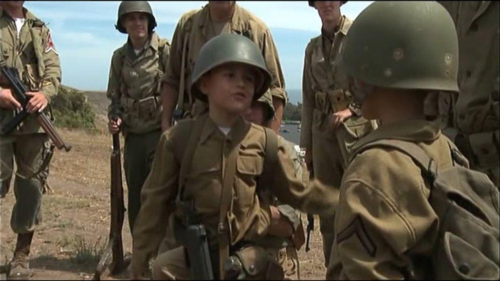 Make A Wish Grants Boy S Dream To Star In World War Ii Film Abc News