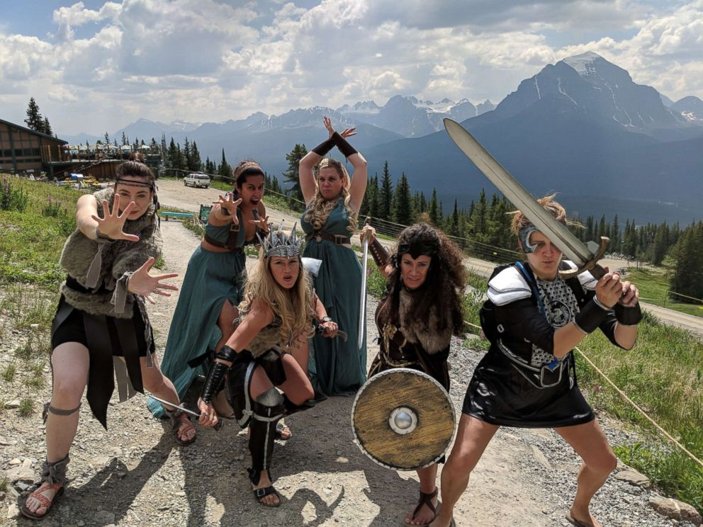 PHOTO: This Warrior Women bachelorette party is giving us all the feels!