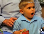 VIDEO: Grayson Clamp, born deaf, is the first child in the U.S. to receive an auditory brain stem implant.