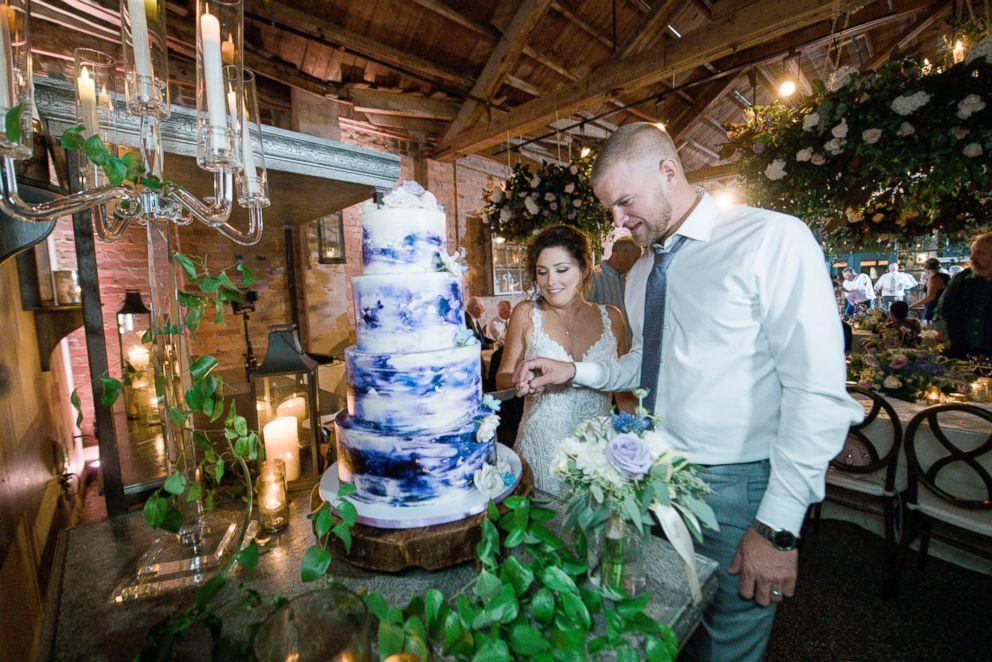 Wedding Cake by Dogwood Designs Bakery.