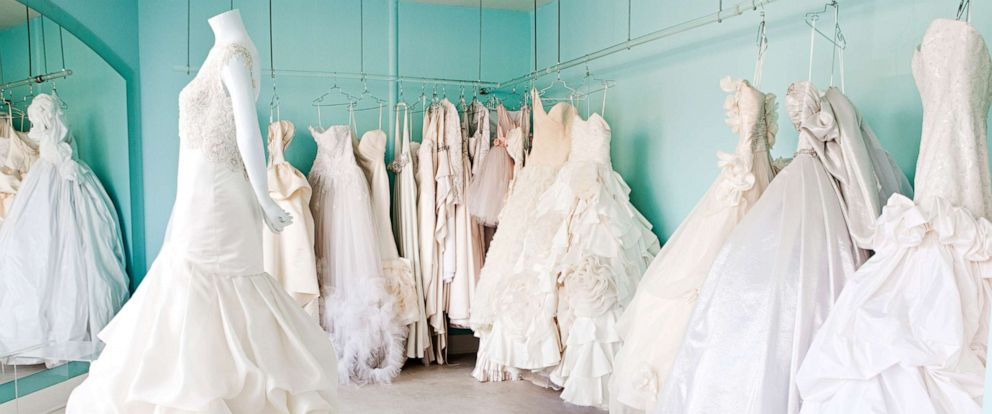 PHOTO: Wedding dresses are pictured in this undated stock photo.