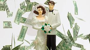 Weddings and money