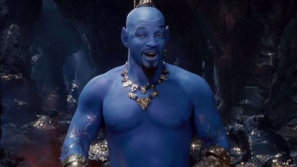 'Aladdin' mini-trailer drops with first look at Will Smith as genie