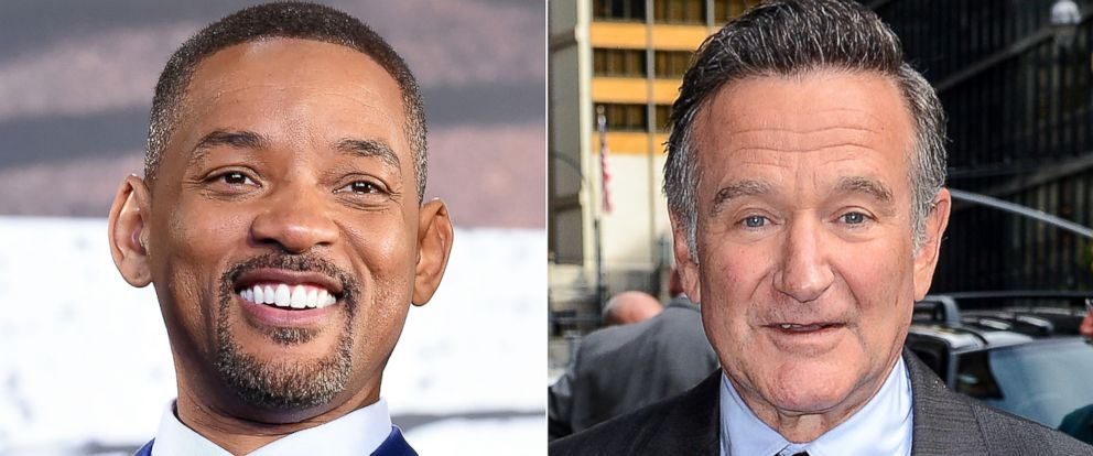 PHOTO: Actor Will Smith, left, and Robin Williams, right.