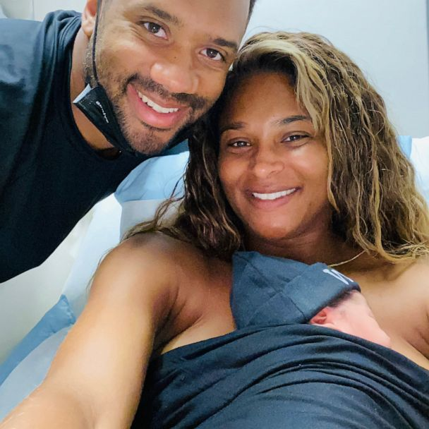 Ciara And Husband Russell Wilson Welcome Baby Boy Gma