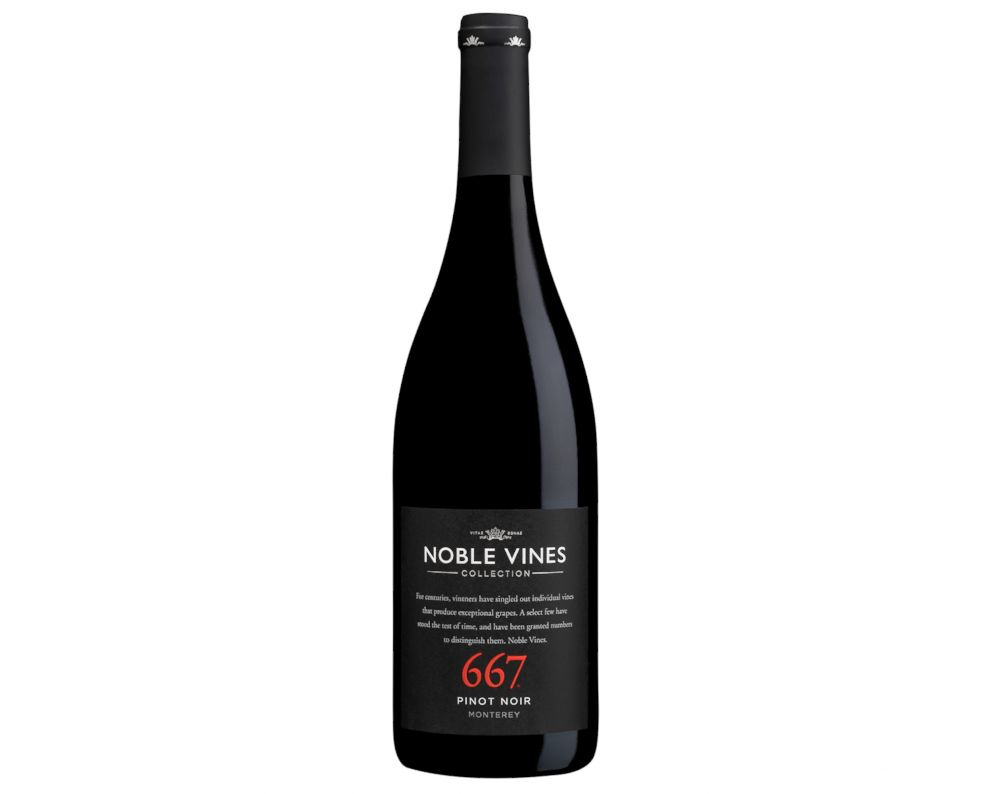 PHOTO: Noble Vines 667 Pinot Noir is a full-bodied wine that pairs perfectly with Thanksgiving food.