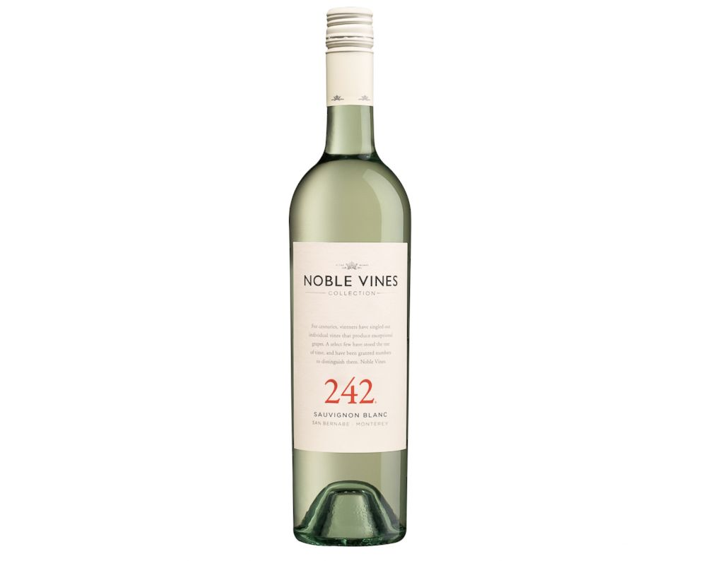 PHOTO: Noble Vines 242 Sauvignon Blanc is a perfect crisp compliment to a tart, pie or other Thanksgiving dessert.