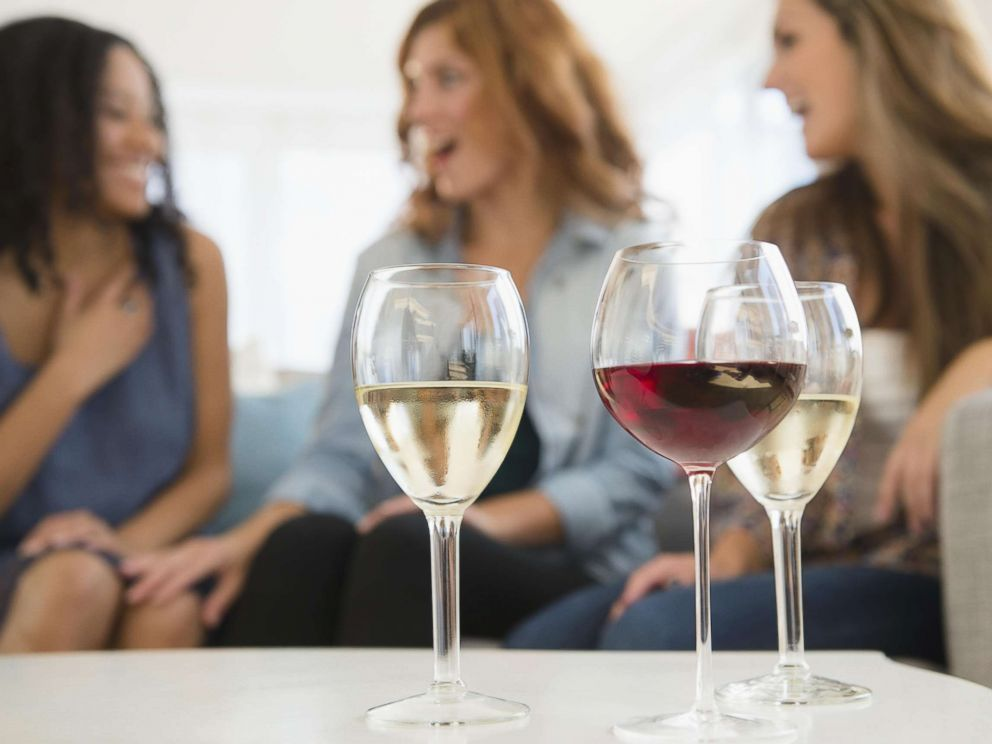 PHOTO: Women are pictured with wine glasses in an undated stock photo.