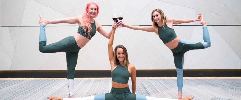 PHOTO: Vino Vinyasa Yoga combines yoga classes with wine tastings.