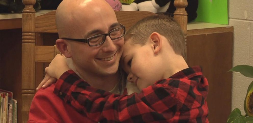 VIDEO: Aaron Williams, 6, had been told his dad, Senior Airman Nicholas Williams, would not be home for Christmas.