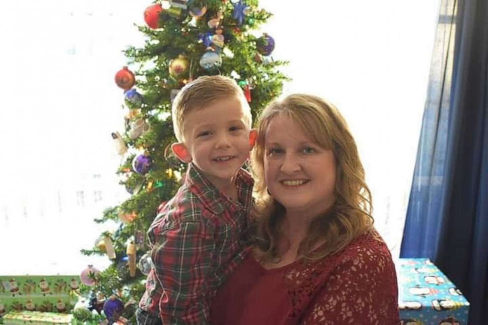 PHOTO: April McMasters also delivered her first grandchild, Maddex, now 4, when he was unexpectedly born at home in 2014.