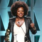 """Viola Davis accepts the Sherry Lansing Leadership Award onstage during The Hollywood Reporter's Power 100 Women In Entertainment, Dec. 5, 2018, in Los Angeles. Reese Witherspoon of the Season Two series 'Big Little Lies' appears onstage during the HBO segment of the 2019 Winter Television Critics Association Press Tour in Pasadena, Calif. Feb. 8, 2019. America Ferrera speaks on the """"Superstore"""" panel, Jan.  29, 2019, in Pasadena, Calif."""