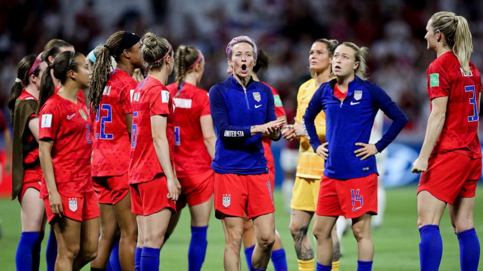 new concept 0f711 f47fe Megan Rapinoe and Rose Lavelle's injuries won't keep them ...