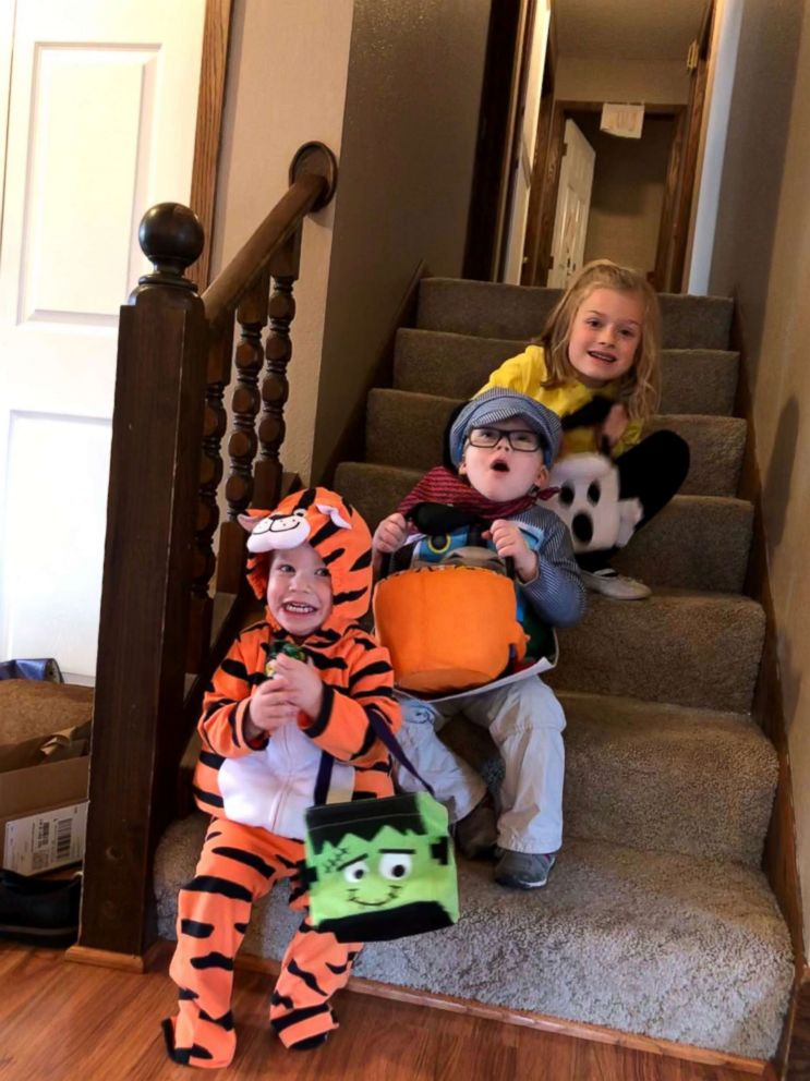 Wyatt Burggraff, 4, whose video of jumping on his trampoline in a wheelchair has gone viral, participates in many activities in his community.