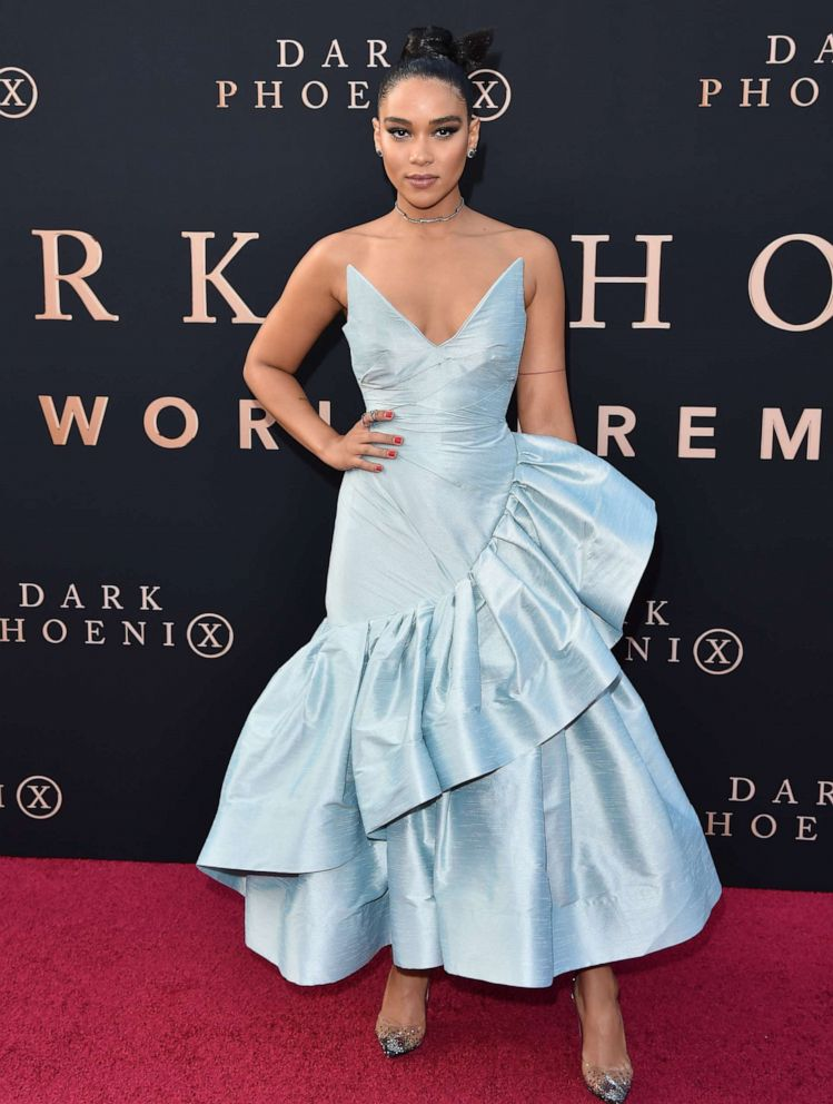 PHOTO: Alexandra Shipp attends the premiere of 20th Century Foxs Dark Phoenix at TCL Chinese Theatre on June 04, 2019, in Hollywood, Calif.