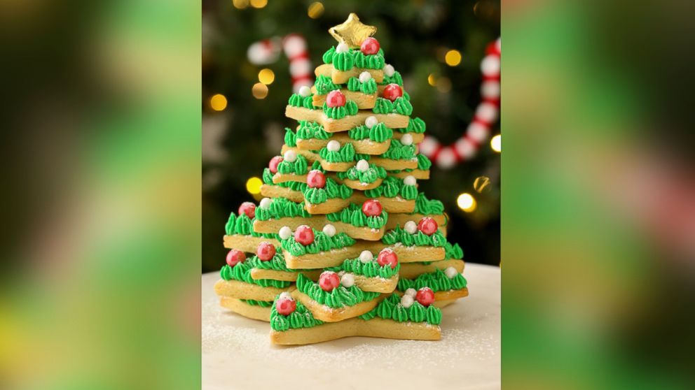 25 Days Of Cookies This Epic Christmas Sugar Cookie Tree Is The