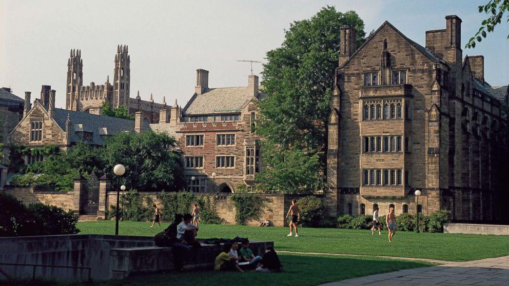 An undated photo of Yale University.