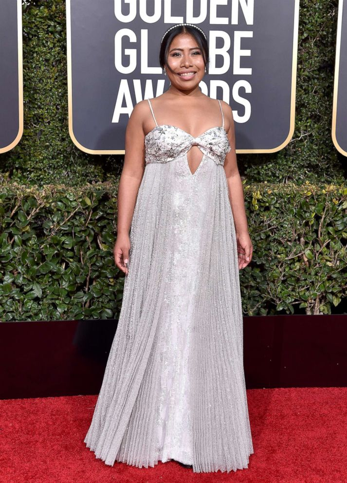 PHOTO: Yalitza Aparicio attends the 76th annual Golden Globe awards at the Beverly Hilton Hotel, Jan. 6, 2019, in Beverly Hills, Calif.