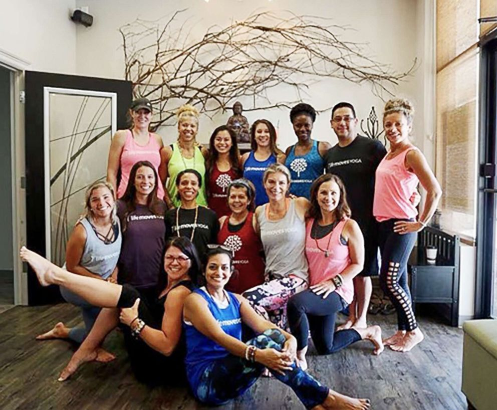 PHOTO: Life Moves Yoga studio in Killeen, Texas, near Fort Hood Military Base, helps military veterans and the community heal through yoga.