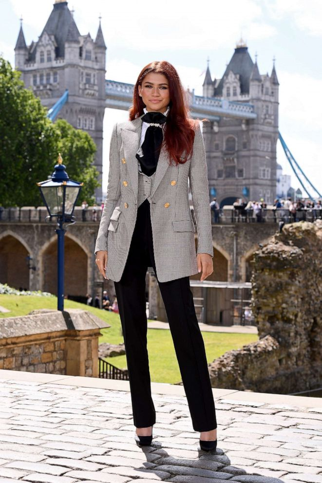 PHOTO: Zendaya attends the Spider-Man: Far From Home London photo call at the Tower of London, June 17, 2019, in London.