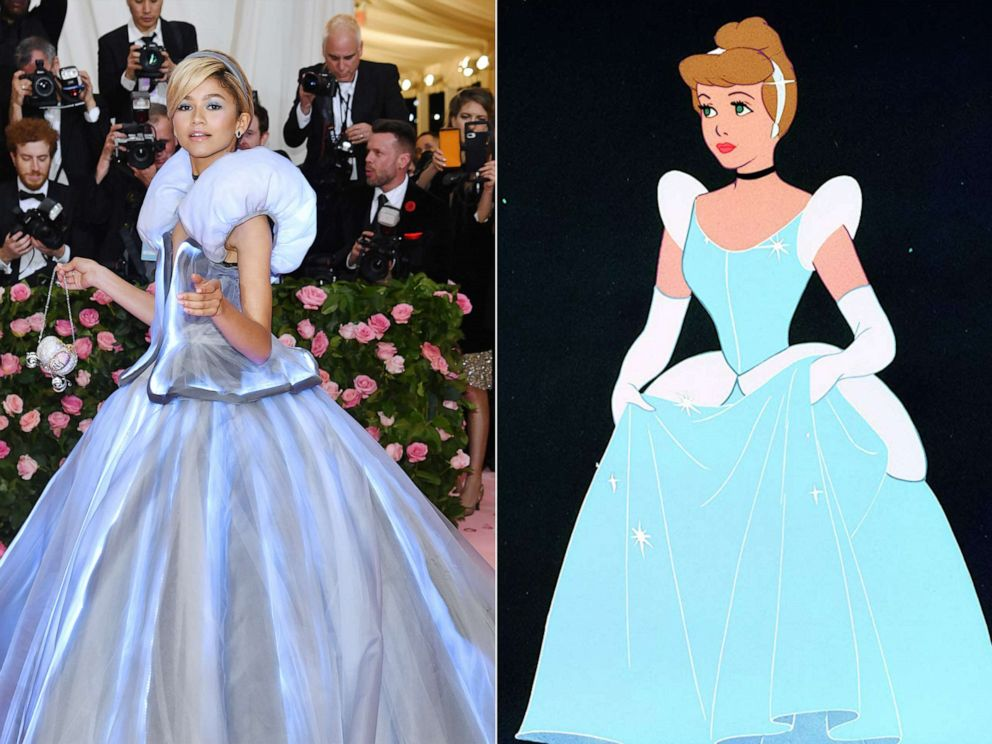 a60819f6 Zendaya transformed into Cinderella for the 2019 Met Gala - ABC News