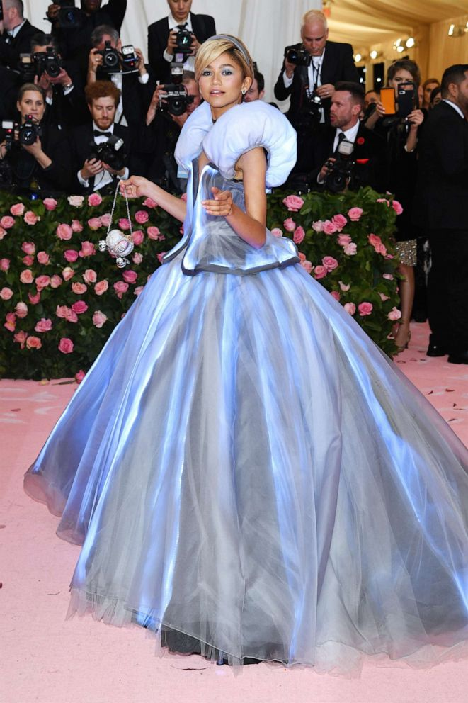 PHOTO: Zendaya attends the 2019 Met Gala Celebrating Camp: Notes on Fashion at the Metropolitan Museum of Art, May 6, 2019, in New York City.