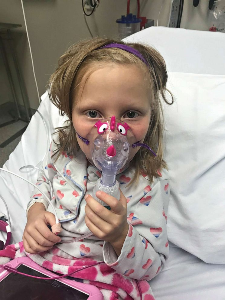 PHOTO: Zoe Ray, 7, of Idaho, was diagnosed with cancer in 2017.