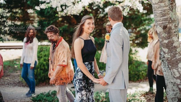 Georgia high school prom couple photobombed by zombies near set of 'Walking Dead'