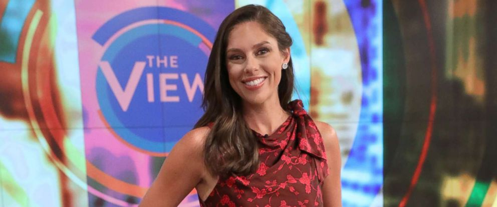 """PHOTO: Co-host Abby Huntsman on """"The View."""""""