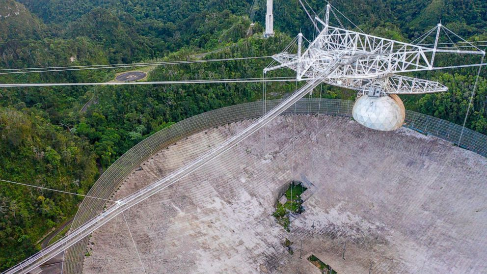 Scientists, students demand action to keep Arecibo radio telescope operating - ABC News