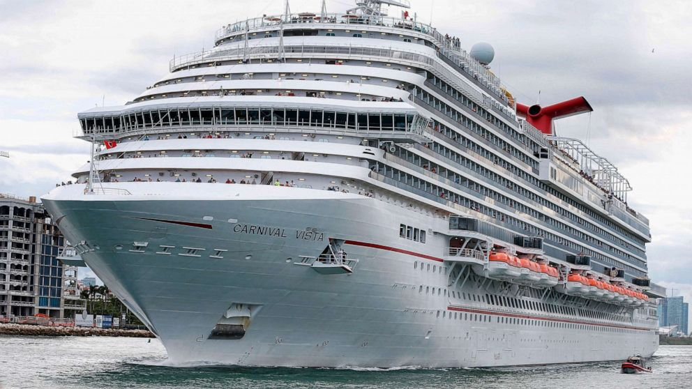 27 vaccinated people test positive for COVID on Carnival ship