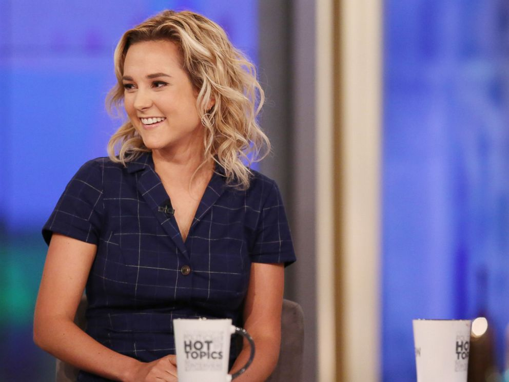 PHOTO: Charlotte Pence appears on The View, Oct. 16, 2018.