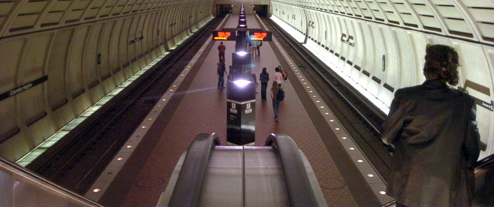 PHOTO: The Columbia Heights Metro station in Washington, DC.