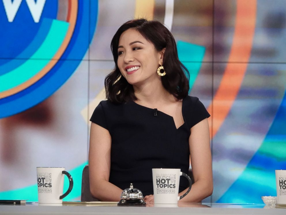 PHOTO: Constance Wu joined The View today to discuss her hit movie Crazy Rich Asians and show Fresh Off The Boat.