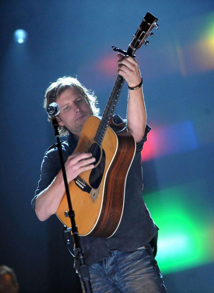 Dierks Bentley performs at the Ryman Auditorium, Oct. 30, 2008, in Nashville.