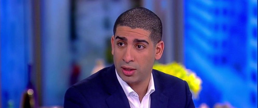 """PHOTO: Retired U.S. Army Capt. Florent Groberg joined """"The View,"""" Nov. 9, 2018, to share of how he earned the highest distinction a soldier can receive."""