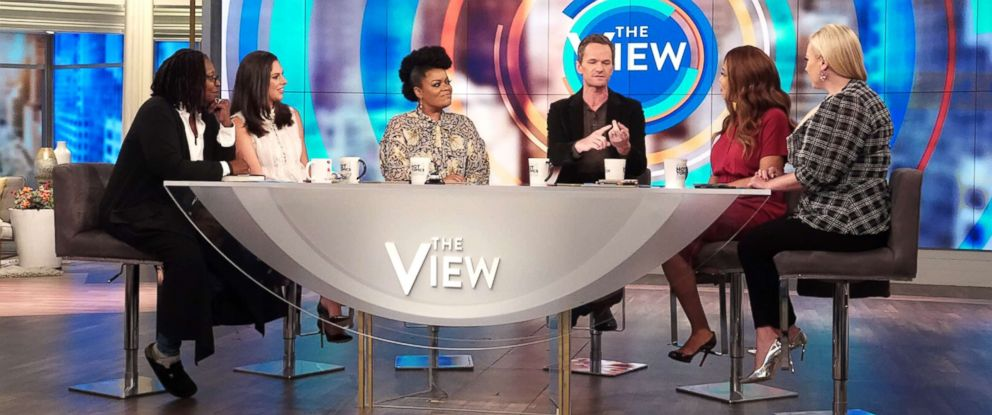 "PHOTO: Neil Patrick Harris joins ""The View"" to discuss his new book, ""The Magic Misfits: The Second Story."""