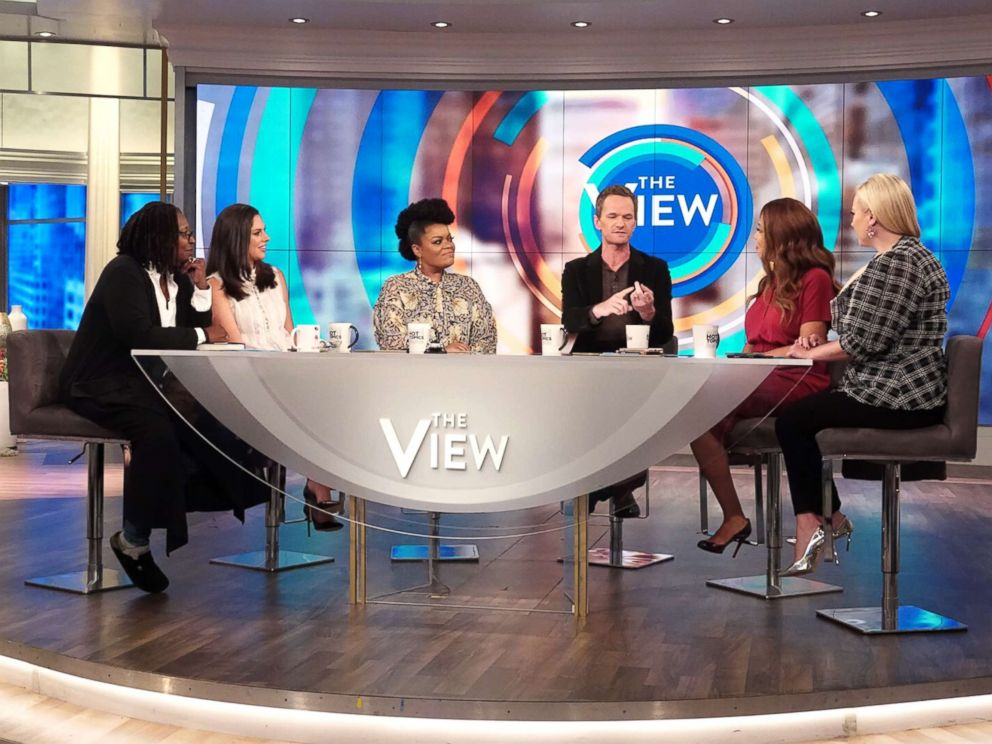 PHOTO: Neil Patrick Harris joins The View to discuss his new book, The Magic Misfits: The Second Story.