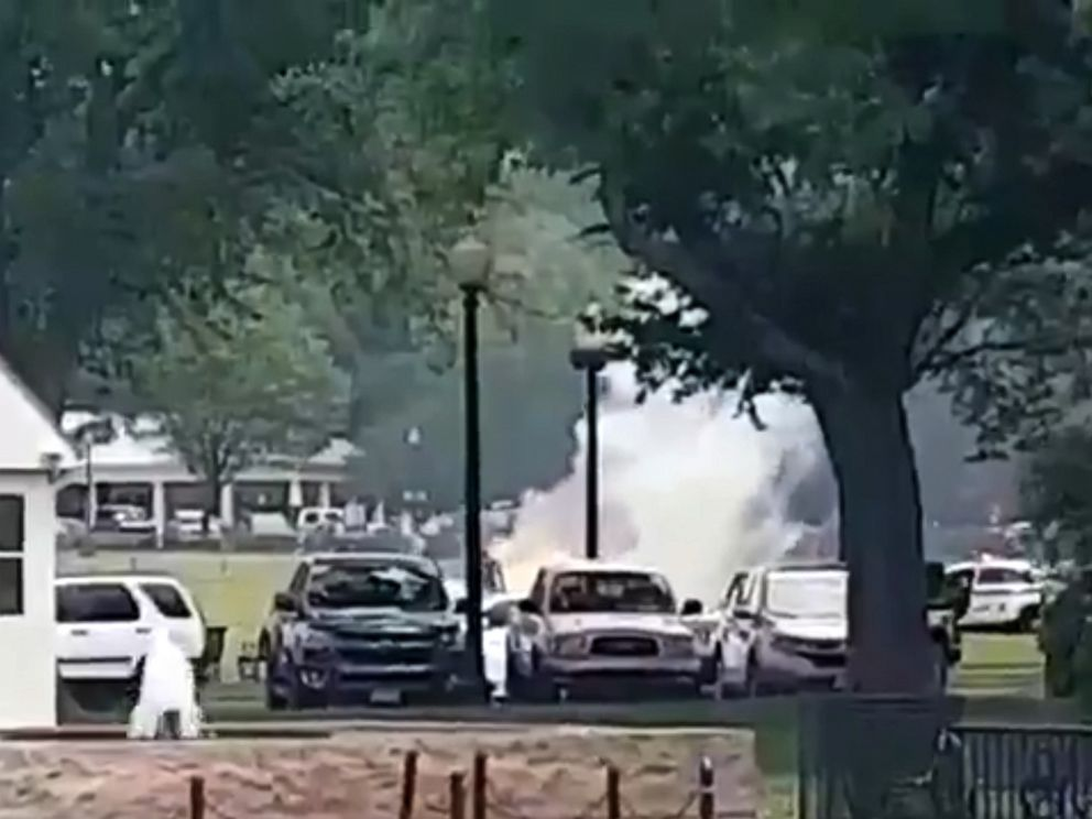 A Man Has Set Himself On Fire Outside The White House