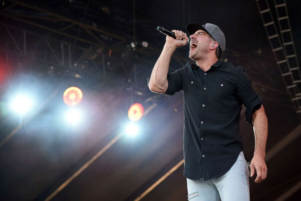 PHOTO: Sam Hunt performs during the Route 91 Harvest country music festival at the MGM Resorts Village, Oct. 5, 2014, in Las Vegas.