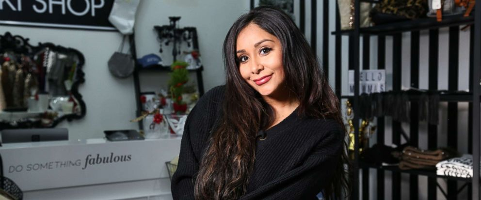 PHOTO: Nicole Polizzi recently opened The Snooki Shop in Madison New Jersey.