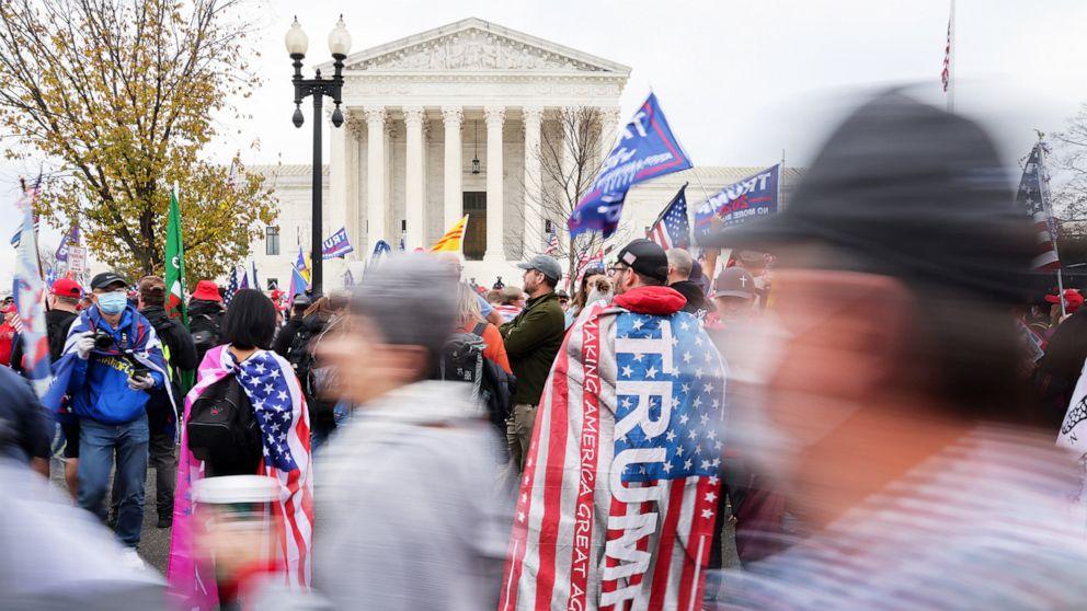 Supreme Court denies bid by Texas, Trump to overturn 2020 election