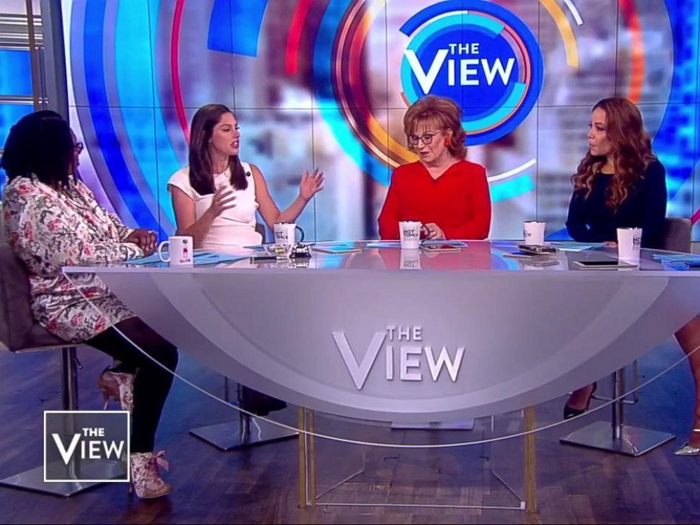 PHOTO: The View co-hosts react to the new app Donald Daters on Oct. 17, 2018.