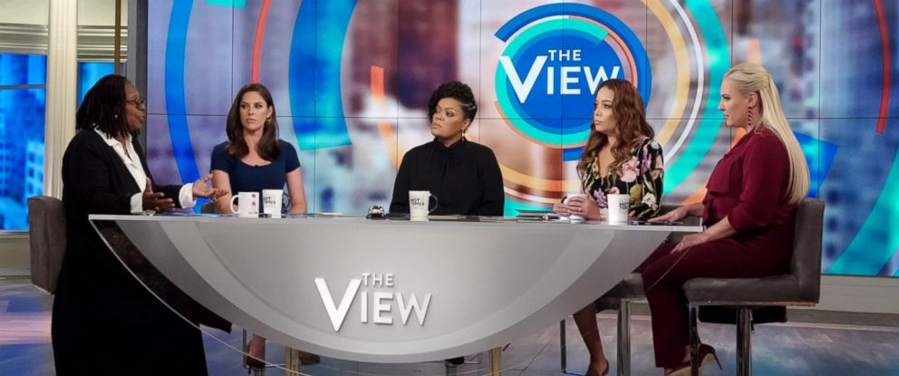 Photo Co Host Of The View Discuss The Recent Kavanaugh Confirmation