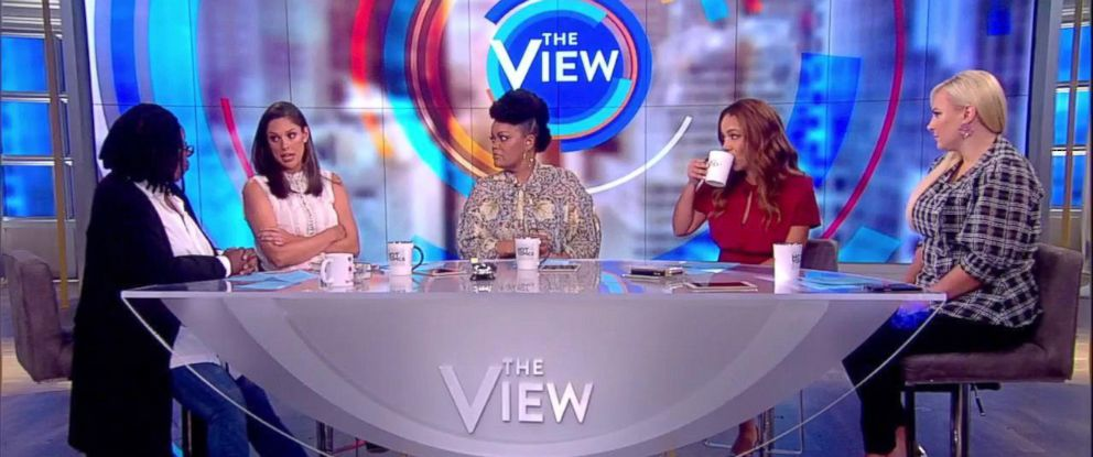 "PHOTO: ""The View"" co-hosts discuss their experience with mental health."