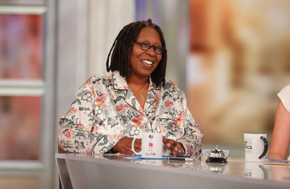 PHOTO: Whoopi Goldberg discussed learning from someone you disagree with on The View today, on Oct. 17, 2018.
