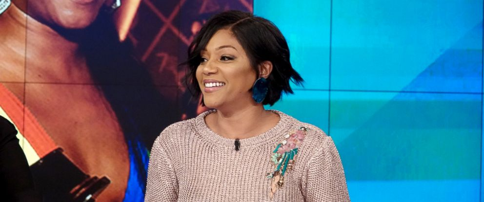 "PHOTO: Tiffany Haddish joins ""The View"" to discuss her new movie ""Nobodys Fool."""