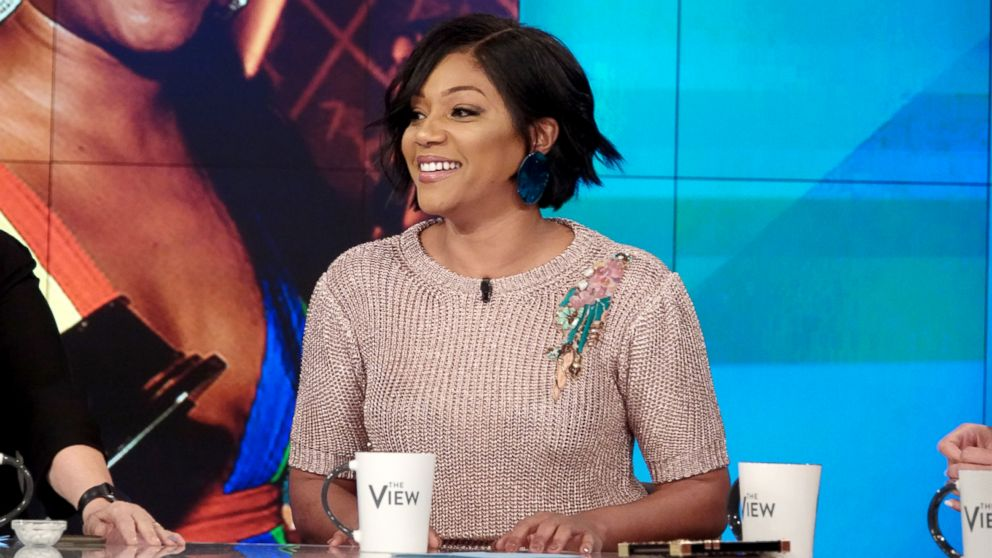 "Tiffany Haddish joins ""The View"" to discuss her new movie ""Nobody's Fool."""